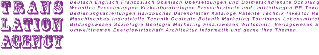 Übersetzungsbüro Hochmair